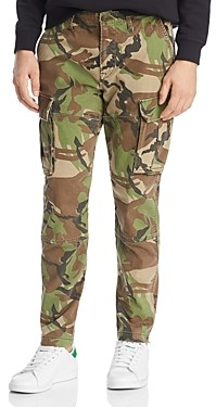 Hudson Skinny Fit Cargo Pants in British Camo