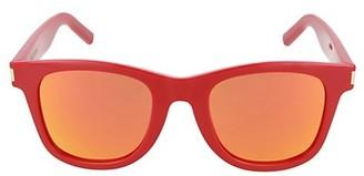 Saint Laurent Core 50MM Round Injection Sunglasses