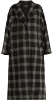 Isabel Marant Ina checked wool coat