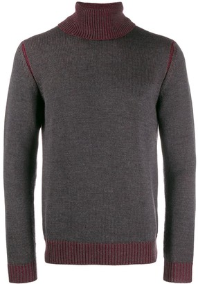 Roberto Collina Ribbed Roll Neck Sweater