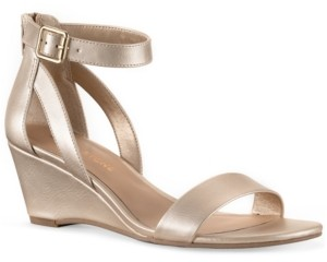 Sun + Stone Jossie Wedge Sandals, Created for Macy's Women's Shoes