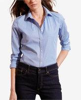 Lauren Ralph Lauren Striped Stretch Shirt
