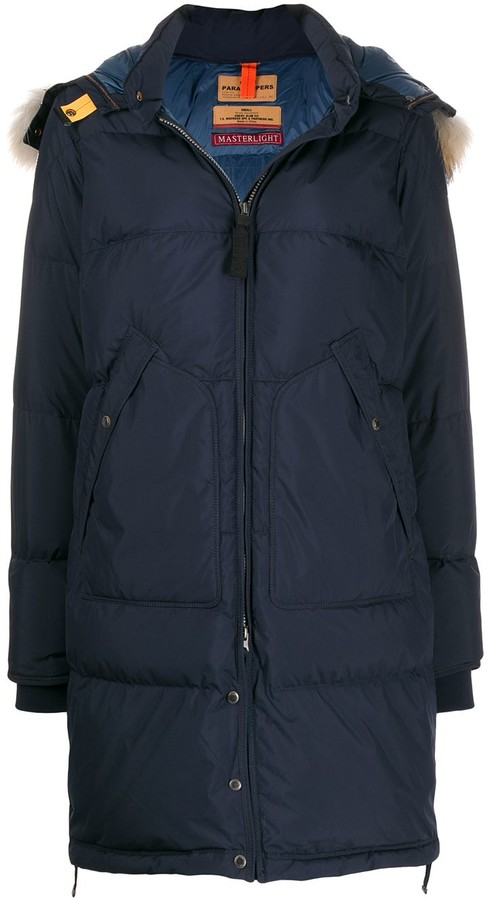 Parajumpers padded parka with removable hood