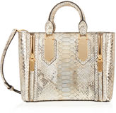 Henri Bendel A-List Mini Metallic Snake Satchel
