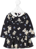 MonnaLisa teddy printed dress - kids - Polyester/Spandex/Elastane/Viscose - 6 mth