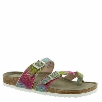 Madden-Girl Women's BRYCEEE-R Slide Sandal