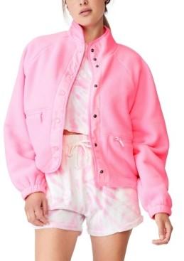 Cotton On Women's Warm Up Sherpa Jacket
