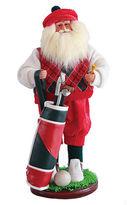 Asstd National Brand 18 Golfer Santa