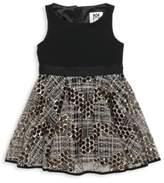 Milly Minis Little Girl's Sleeveless Tulle Dress