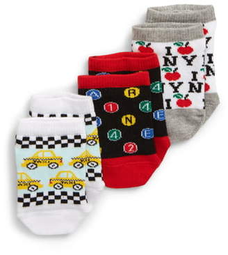 Tucker + Tate NYC Transportation 3-Pack Socks