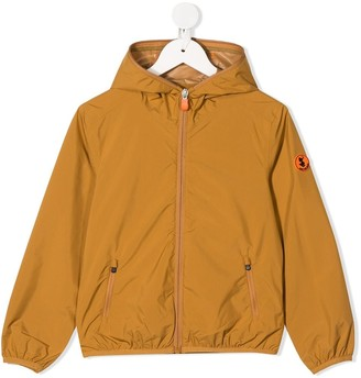 Save The Duck Kids Hooded Rain Jacket