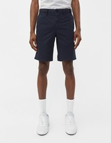 Norse Projects Men's Aros Light Twill Short in Dark Navy, Size 29 | 100% Cotton