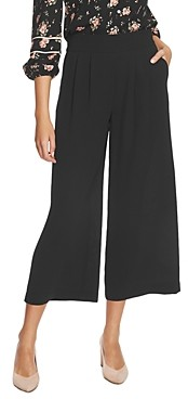 1 STATE Cropped Wide-Leg Pants
