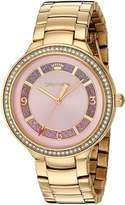 Juicy Couture Women's 'CATALINA' Quartz Tone and Gold Plated Casual Watch(Model: 1901573)