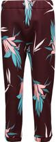 Marni Printed padded jersey pants