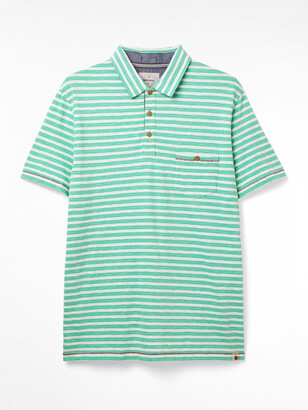 White Stuff Calder Stripe Organic Polo