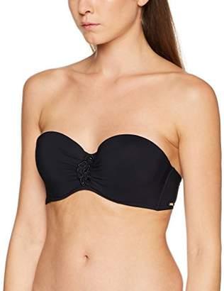 Aubade Women's ECLAT D'OASIS Bikini Top, Black Noir, Size: 95D