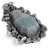 Alexander McQueen Women's Labradorite Ring