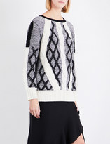Prabal Gurung Chunky cable-knit jumper
