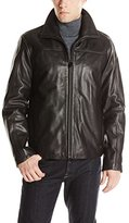 Calvin Klein Men's Leather Jacket
