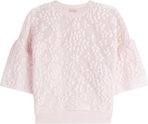 Giambattista Valli Petal Top with Silk