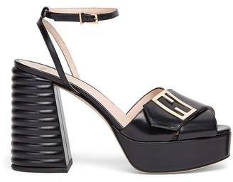 Fendi Leather Promenade Sandals