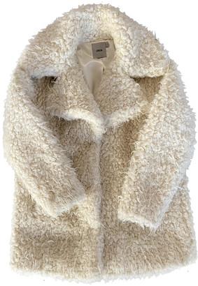 Non Signã© / Unsigned White Faux fur Coats