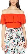 Dorothy Perkins Women's Ruffle Bardot T-Shirt