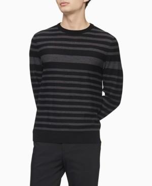 Calvin Klein Merino Engineered Stripe Sweater