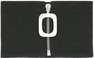 J.W.Anderson Zip-up Wool Knit Neckband