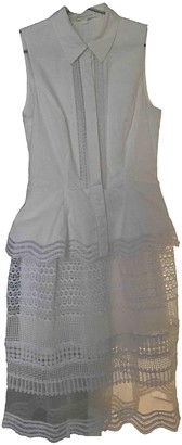 Jonathan Simkhai White Cotton Dresses