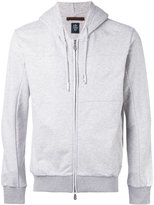 Eleventy zipped hoodie - men - Cotton - S