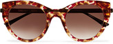 Thierry Lasry Joyridy cat-eye acetate and metal sunglasses
