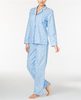 Charter Club Petite Flannel Pajama Set, Only at Macy's