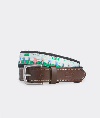 Vineyard Vines Place Your Bet Belt