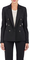 Barneys New York Women's Double-Breasted Blazer-BLACK