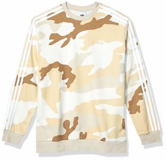 adidas Men's Camo Crewneck Sweatshirt