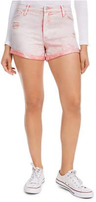 Celebrity Pink Juniors' Distressed Denim Shorts