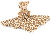 Jellycat Infant 'Giraffe Soother' Blanket