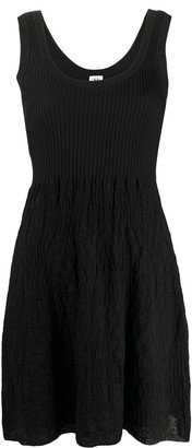 M Missoni Crinkled-Knit Dress