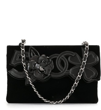 Chanel Pre Owned 2006s Camelia No.5 chain shoulder bag