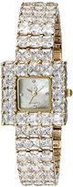 Adee Kaye Women's AK28N-LG Sparkle Analog Display Quartz Gold Watch