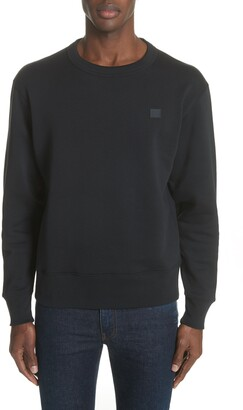 Acne Studios Fairview Face Crewneck Sweatshirt