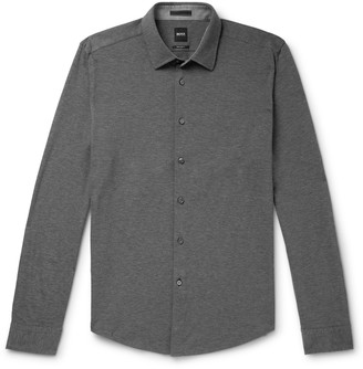 HUGO BOSS Lakes Cotton-Pique Shirt