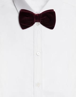 Dolce & Gabbana Velvet Bow Tie