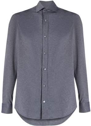 Ermenegildo Zegna melange formal shirt