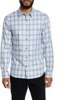 Vince Slim Fit Plaid Flannel Button-Up Shirt