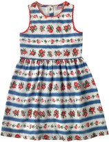 Cath Kidston Ribbon Rose Sleeveless Dress