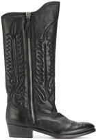 Golden Goose Deluxe Brand pointed-toe cowboy boots - women - Leather - 37