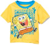 Children's Apparel Network Yellow & Blue 'Spongebob' Tee - Infant & Toddler